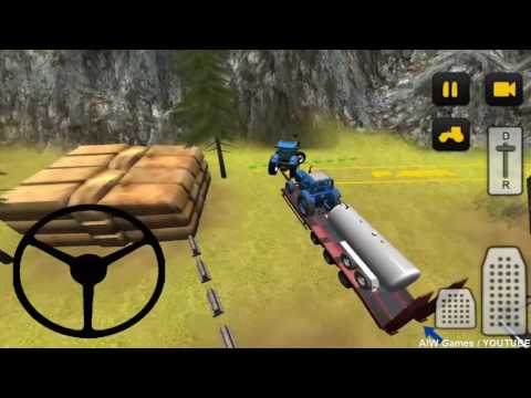 Farming 3D Tractor Transport - New Android Gameplay HD