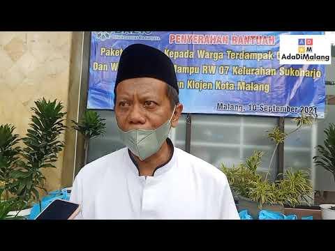 BAZIS Universitas Brawijaya Beri Bantuan Warga Terdampak Pandemi Covid-19