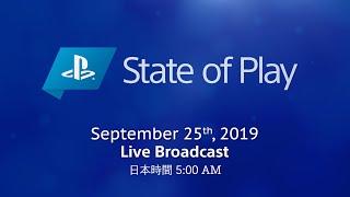 [日本語] State of Play | 2019/9/25 | PlayStation