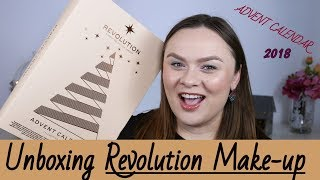 Unboxing Revolution Make-up Advent Calendar | 2018