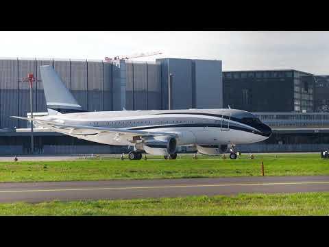 [4K] Private A319-115(CJ) Comlux Aviation Malta & Global Jet Luxembourg   OKT.2020 ZRH