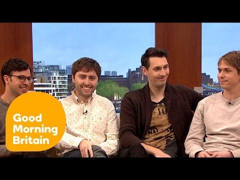The Inbetweeners Cast : Improvising & Life   Good Morning Britain