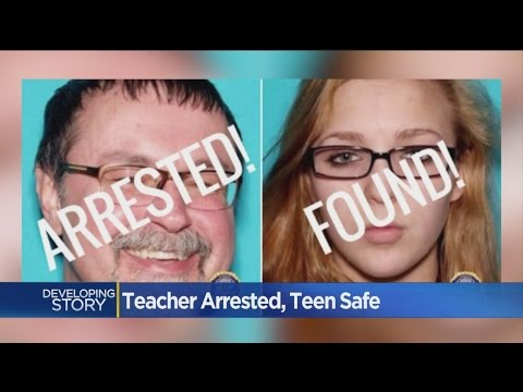 After A Monthlong Search, Student Found Safe, Teacher Arrested