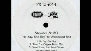 Watch Showbiz  Ag He Say She Say video