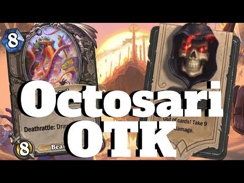 Octosari Mill Rogue! INSANE OTK Combo! [Hearthstone Game Of The Day]