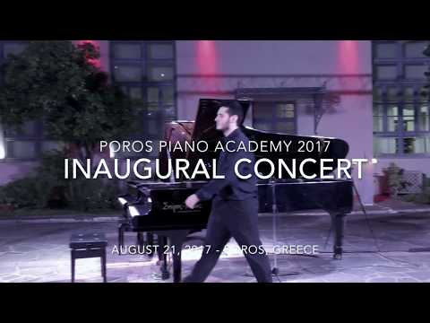 Poros Piano Academy 2017 - Inaugural Concert - Liszt - Grigoris Ioannou