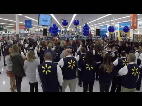 Walmart Supercenter Store #1 Re-Grand Opening in Rogers, AR