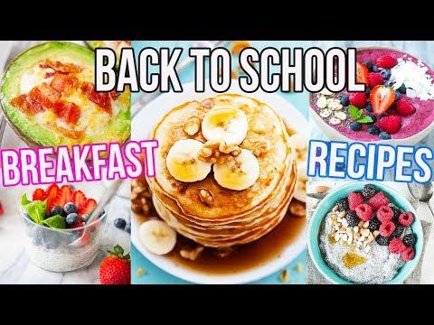 BACK TO SCHOOL BREAKFAST IDEAS!! Easy + Cheap!!