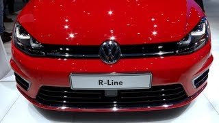 2014 VW Golf 7 R-line 2.0 TDi (150 hp) - in Detail (1080p FULL HD)