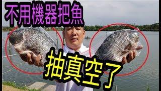 桃園吳郭魚原來這樣釣??!!老闆竟然也不會嚇呆了!!!!!