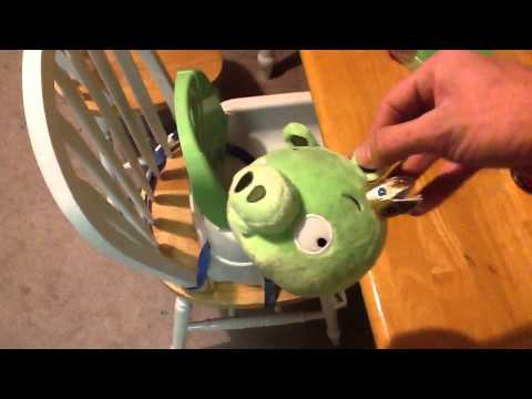 Angry Birds Piñata - How To Make For A Birthday Party - YouTube