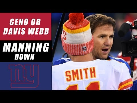 Eli Manning Benched for Geno Smith