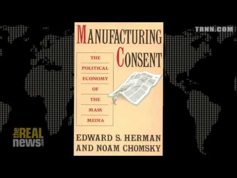 """Ed Herman, Co-Author of """"Manufacturing Consent"""" Pt 1"""