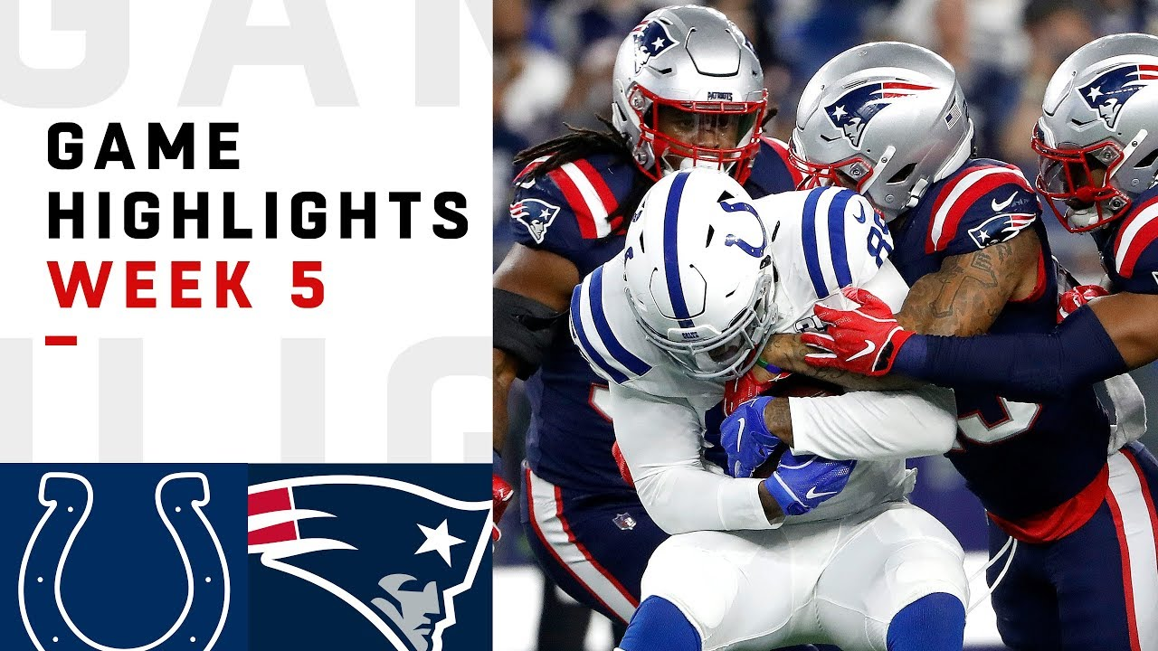 Colts vs. Patriots Week 5 Highlights  1c6c69f1f