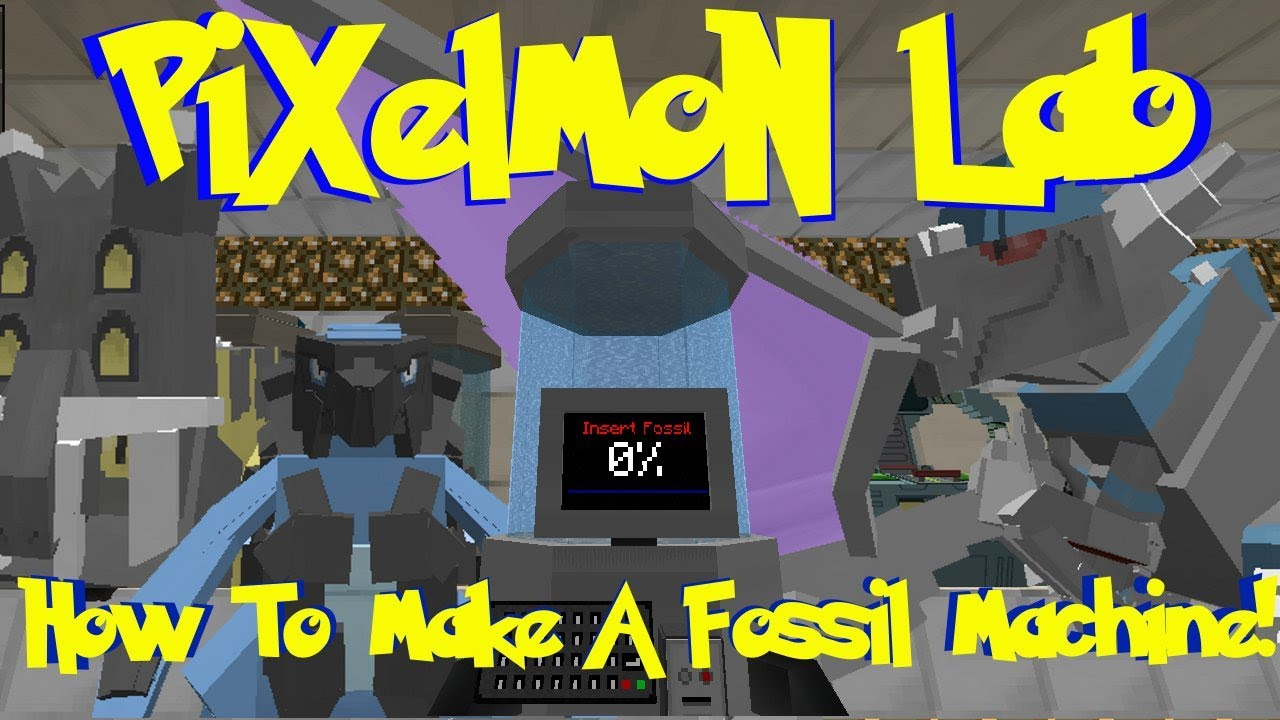 pixelmon fossil machine
