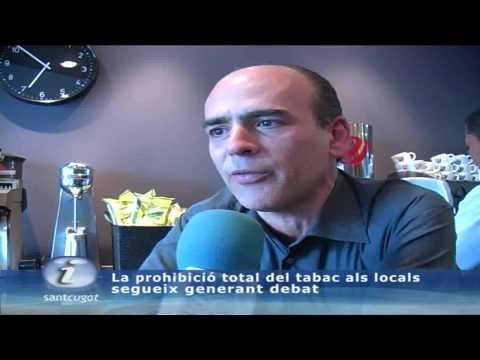 La prohibició total del tabac als locals  segueix generant debat