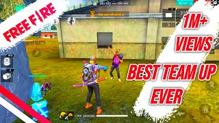 BEST MEET UP ENEMY EVER - FREE FIRE LIVE GAME PLAY