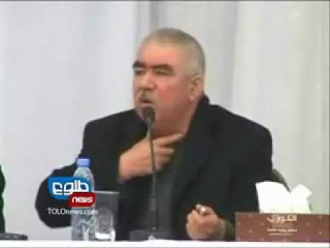General Dostum Complains about President Karzai
