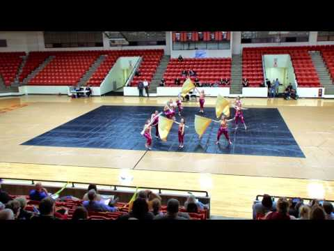 Chilhowie High School Winterguard Stateline Clinic and Qualifier 2017