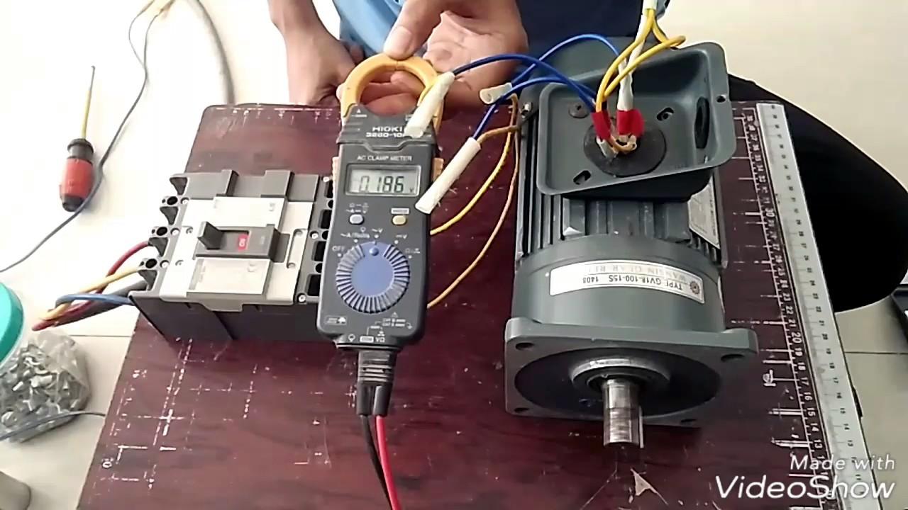 Cách Đảo Chiều Động Cơ 3 Pha 380V Đấu Thành 1 Pha 220V