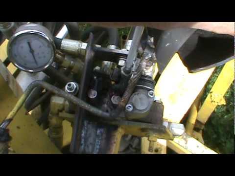 Homemade hydraulic joystick MPG