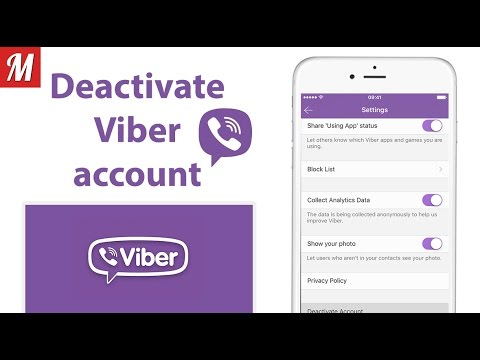 How to deactivate Viber account forever on IOS