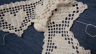Repeat youtube video Orilla # 12 Crochet de Corazones