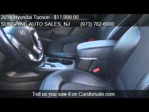 2010 Hyundai Tucson Limited GAS SAVER  for sale in Paterson,