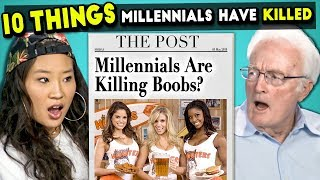 Download 10 Things Millennials Have Killed | Millennials & Boomers React Mp3 and Videos