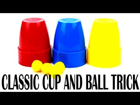 The Classic Cup and Ball Trick | Amazingly Easy Tricks | By Alf Kids Station