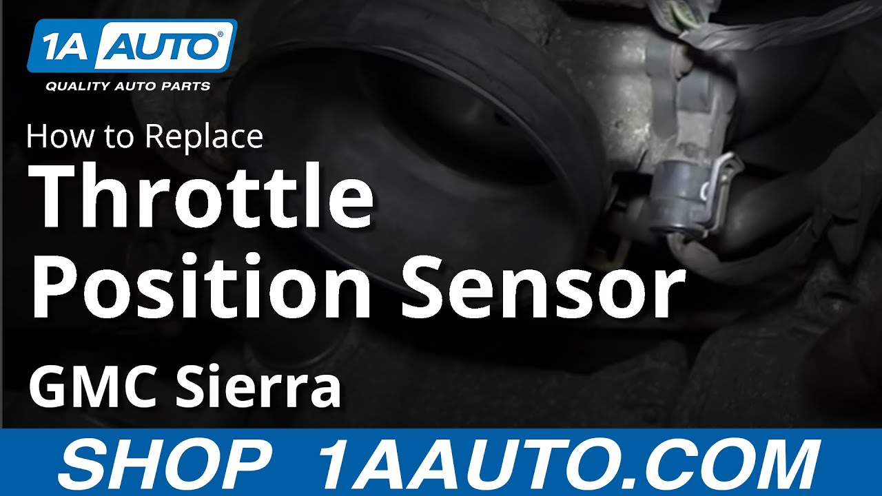 how to install replace throttle position sensor chevy silverado gmc sierra [ 1920 x 1080 Pixel ]