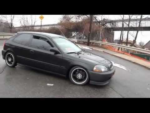 1998 Honda Civic Dx Hatchback D16y7 1 6 Liter Youtube