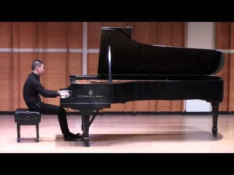 Ji, Pianist - Corigliano: Etude Fantasy (Excerpt)
