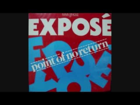 """Expose- Point Of No Return (PWL Phil Harding 12"""" Mix)"""