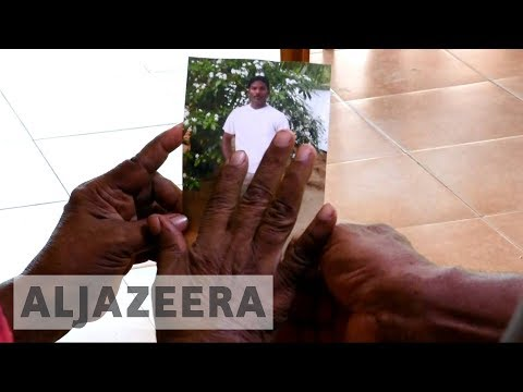 Sri Lanka families search for missing victims from eight years after civil war