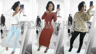 Shawty Winter-time FINE Try On Haul! African Mall I SEE YOU!!!