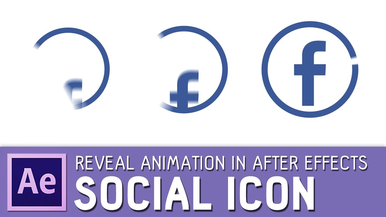 social icon animation in