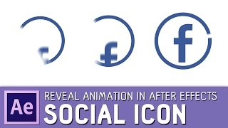 Social-icon-animation in After Effects ✔