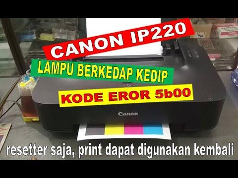 Cara mengatasi Kedip 7 kali bergantian Printer ip2770.