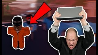 dad RAGING of getting ARRESTED on JAILBREAK in Roblox *funny compilation*