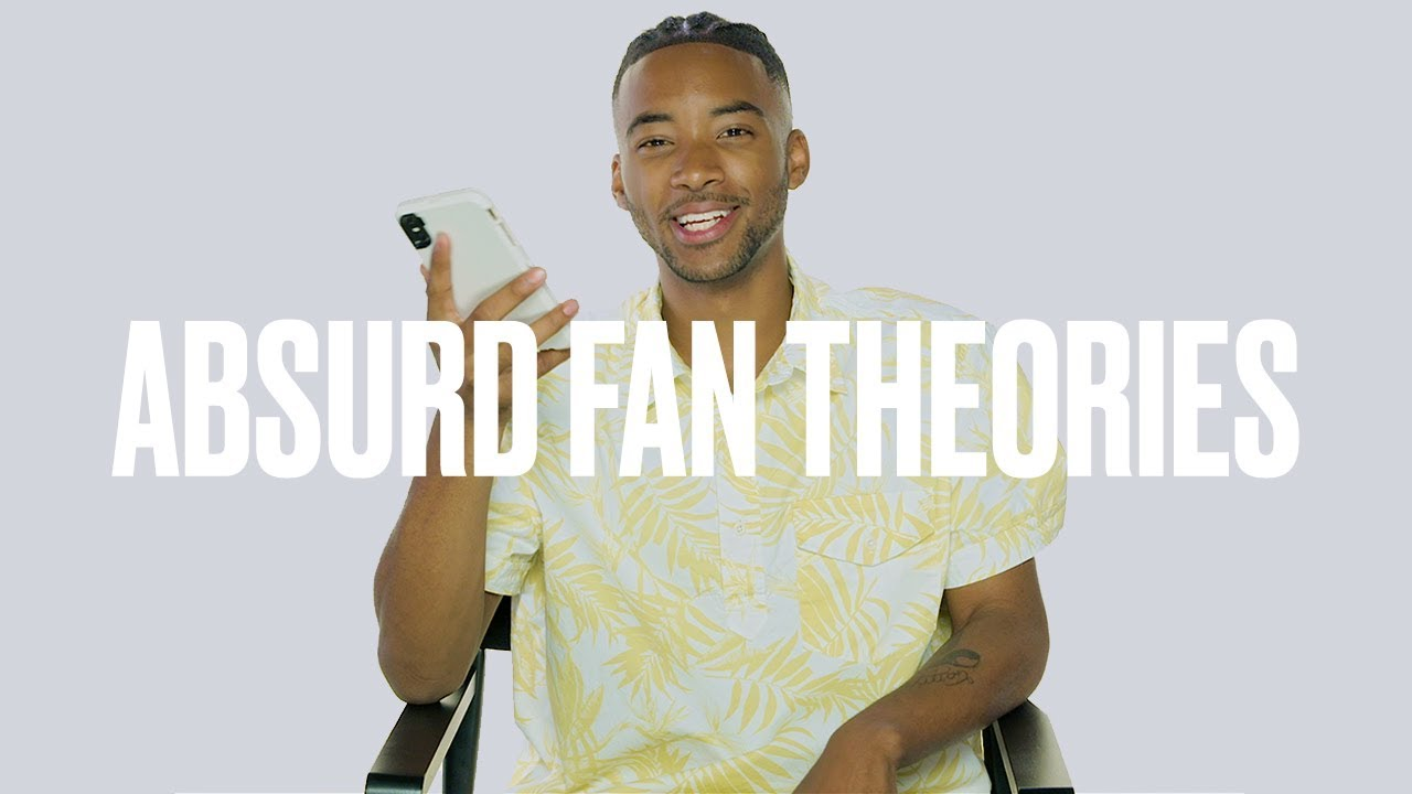 Algee Smith Reads Fan Theories for Season 2 of HBO's Euphoria | ELLE