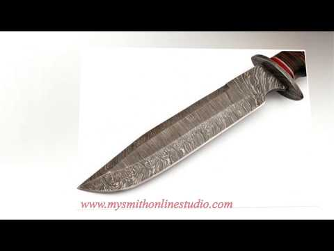Damascus Steel Bowie knife £ 49.99 - Hunting/Pocket knives 2017