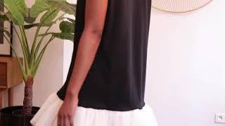 La petite robe noire & blanche