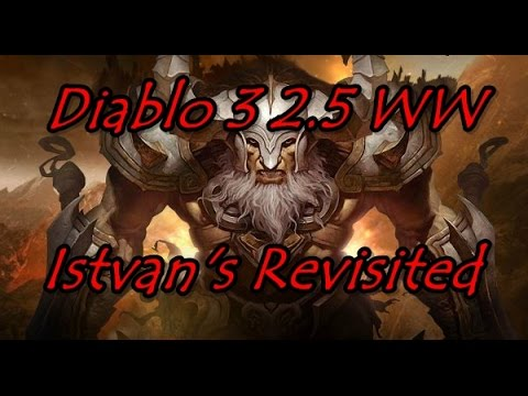 Diablo 3 Whirlwind Barb 2.5 Istvan's Set Revisited/Top Leaderboard Build
