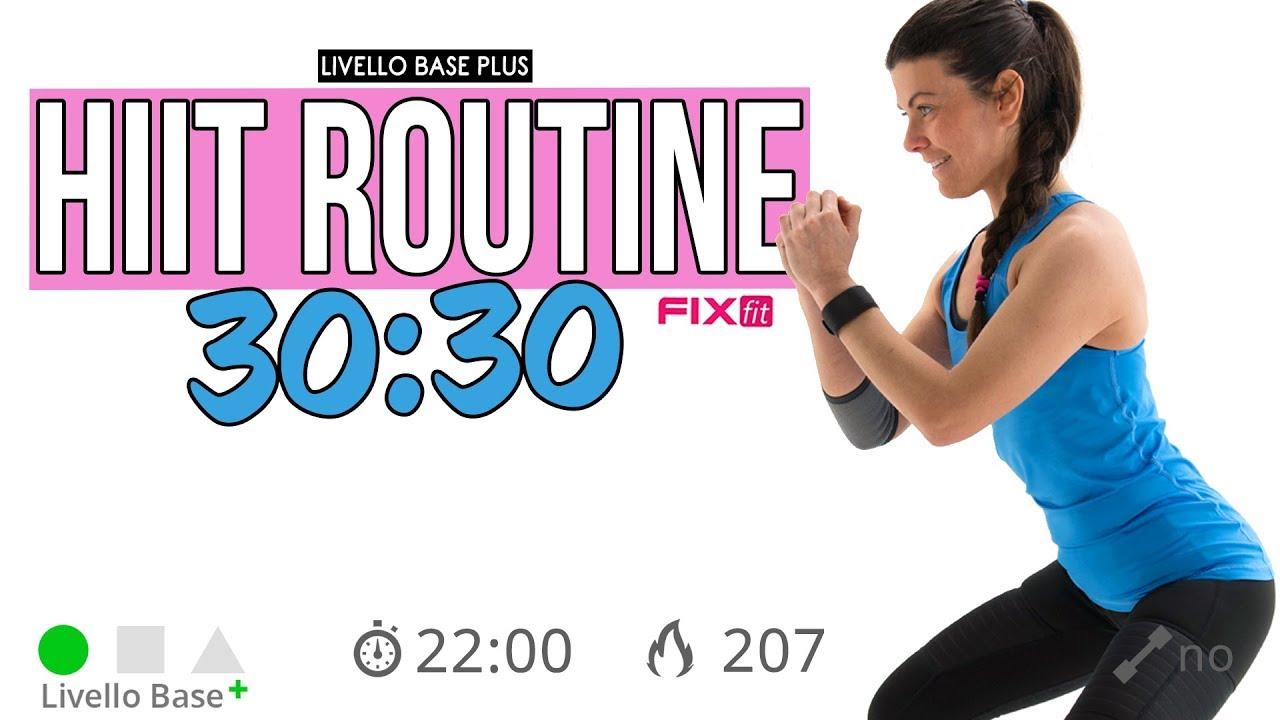 routine di esercizio brucia grassi