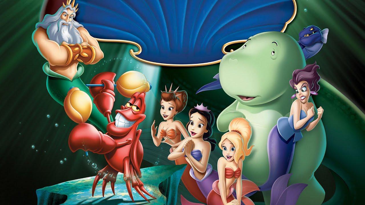 La petite sir ne 3 le secret de la petite sir ne dessin anime complet en fran ais youtube - Ariel petite sirene ...