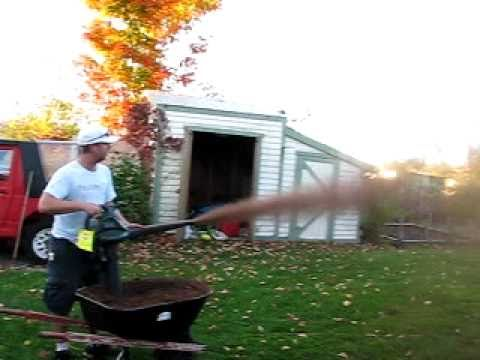 Best Lawn Fertilizer >> Peat Moss Leaf Blower Part 3 - YouTube