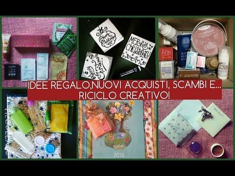 regali idee regalo nuovi acquisti scambi e riciclo