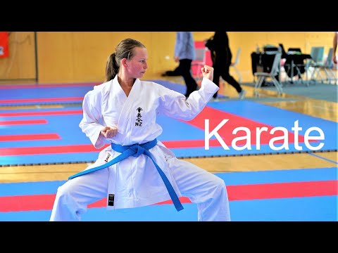 Basic Karate Techniques Used As Weapons In Competitions