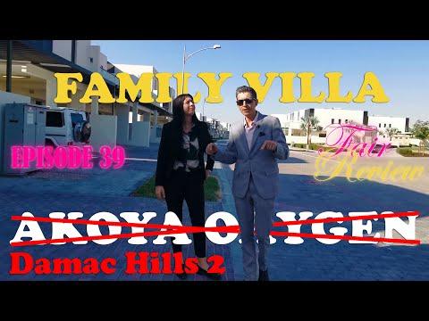 Fair review of family villa in Akoya Oxygen by Damac in Dubai